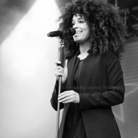 Sharon Doorson bij Oranjenacht Gouda 26-04-2016
