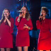 Lesley Croes van der Aa, Lisa Hordijk en Patt Riley, Kerst op de Dam Amsterdam 2016