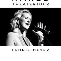 Foto Leonie Meijer, Poster / Flyer theatertour 'Naked'