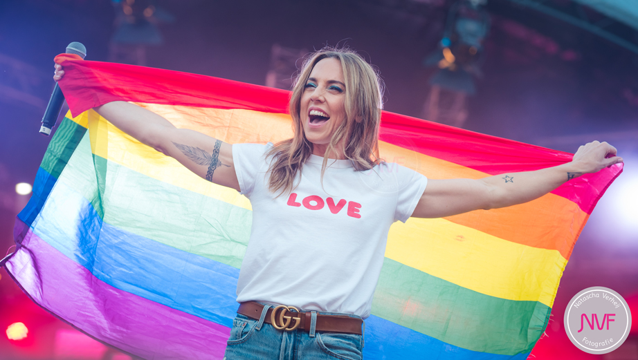 Melanie C at Closing Party MainStage Pride Amsterdam 05-08-2018